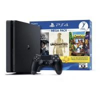 Sony Consola Play Station 4 Slim Mega Pack  / 3004816RSK / 1TB
